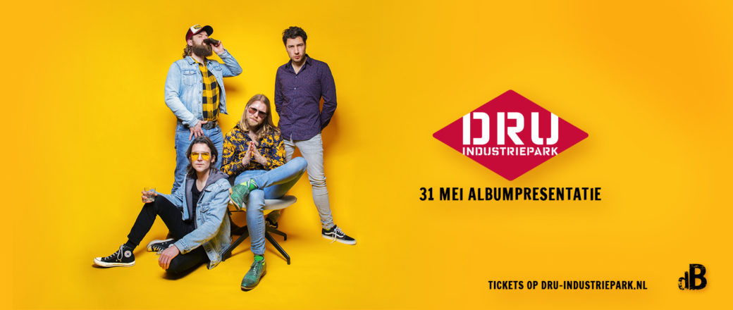 de Boetners 31 mei Albumpresentatie DRU Industriepark